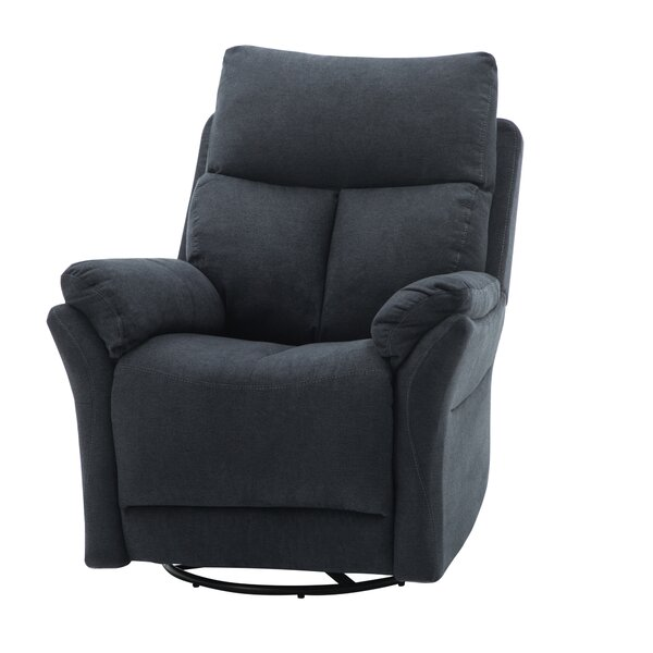Westgate Upholstered Manual Swivel Recliner