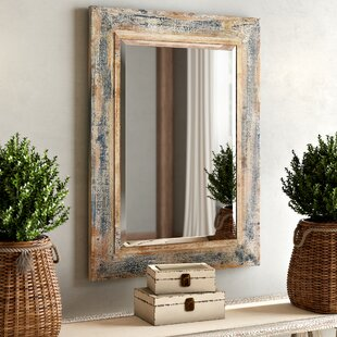 One Allium Way Janie Rectangular Wall Mirror