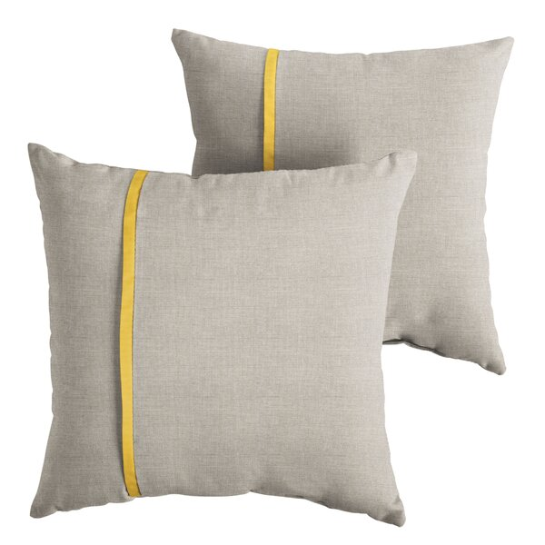 Maggard Indoor/Outdoor Throw Pillow (Set of 2) by Gracie Oaks