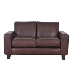 Columbia Leather Loveseat