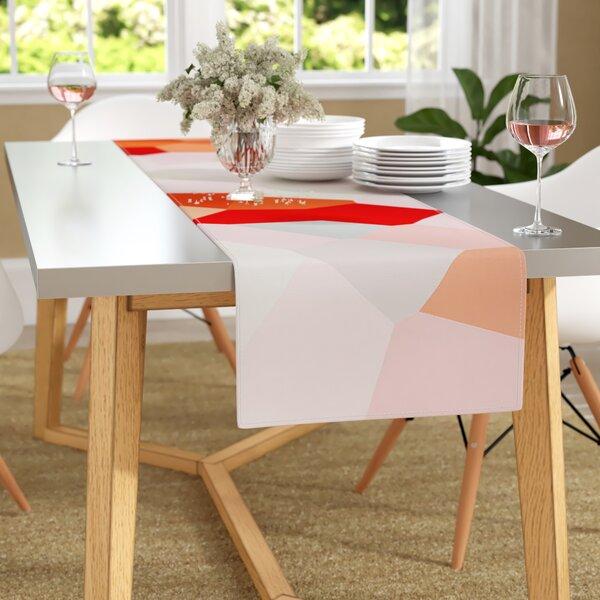 Iris Lehnhardt Oooh La La Pixel Table Runner by East Urban Home