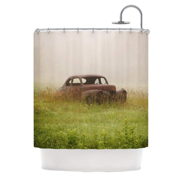 Forgotten Car Shower Curtain by East Urban Home