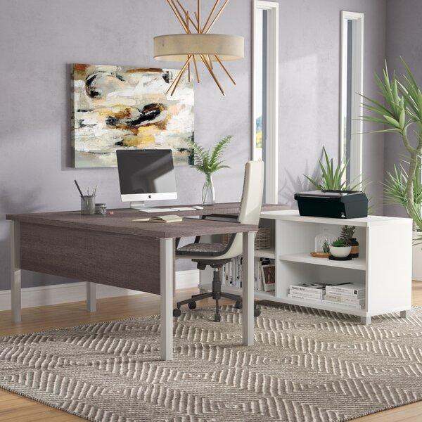 Ariana U-Shape Desk Office Suite by Mercury Row