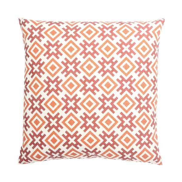 Ellerbee Geometrical Image Print Square Throw Pillow by Ivy Bronx