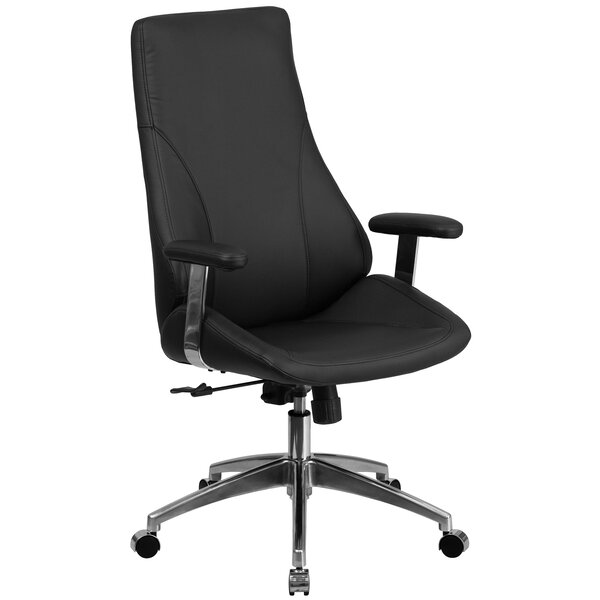 Wydra High-Back Executive Chair by Symple Stuff