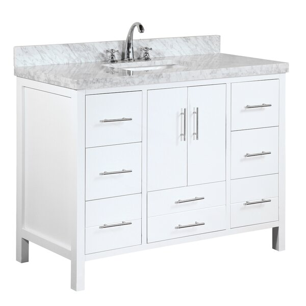 California 48 Single Bathroom Vanity Set by Kitchen Bath Collection