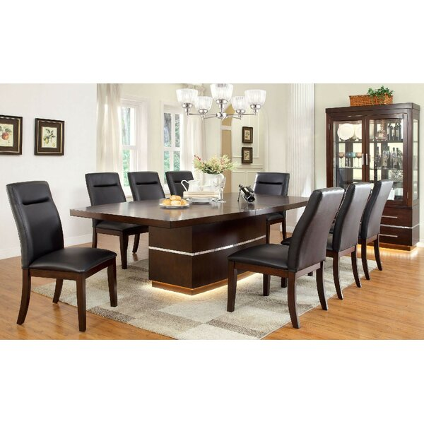 Wallace 9 Piece Drop Leaf Dining Set By Orren Ellis 2019 Sale