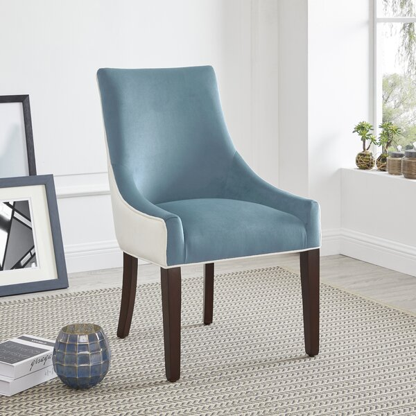 Clover Upholstered Dining Chair by Winston Porter