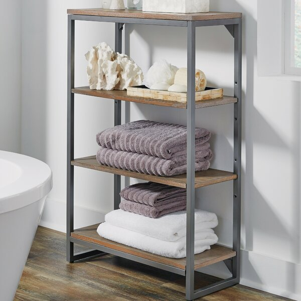 Eckles 24 W x 38.25 H Bathroom Shelf by 17 Stories