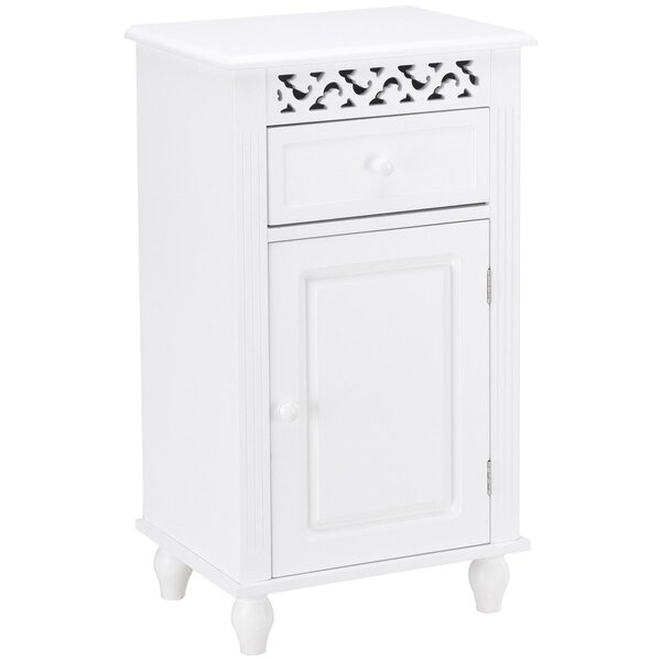Griffis 16'' W x 28.5'' H x 12'' D Free-Standing Bathroom Cabinet