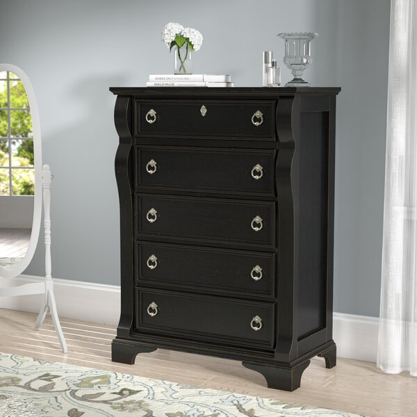 Rosehill 5 Drawer Chest By Lark Manor 2019 Sale