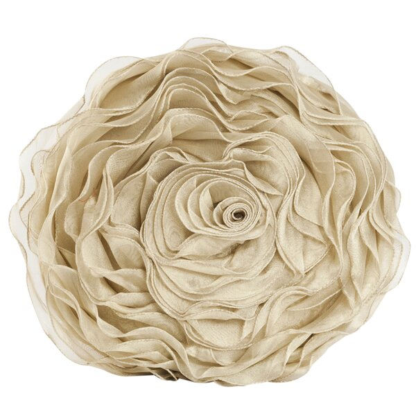 Floral Throw Pillow by House of Hampton