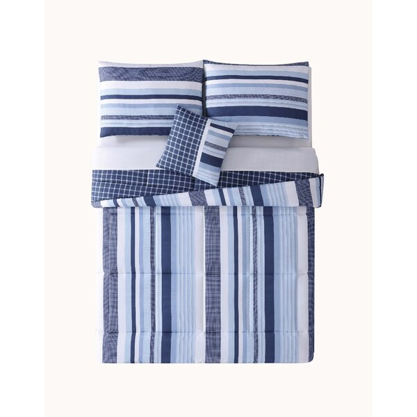Stripe Comforter Set by Birch Lane™