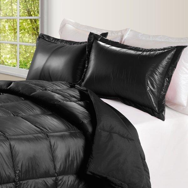 Ultra Light Nylon and Microfiber Down Alternative Indoor/Outdoor Comforter by Alwyn Home