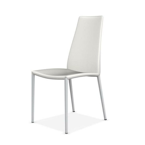 Aida Regenerated Leather Upholstered Dining Chair by Calligaris