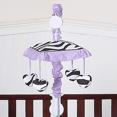 Zebra Musical Mobile by Sweet Jojo Designs