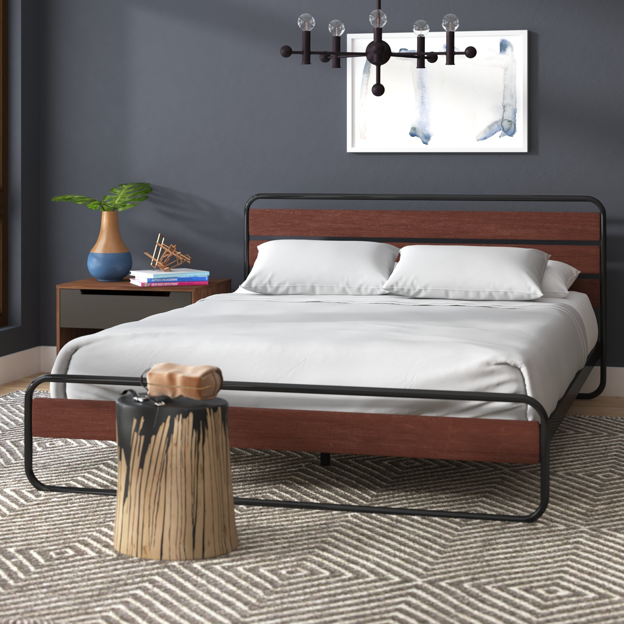 Industrial Metal Beds You Ll Love In 2021 Wayfair