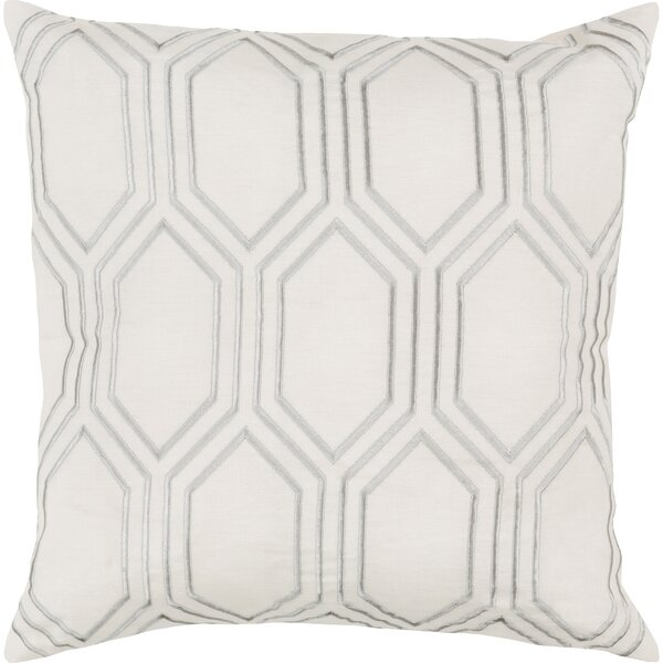 Lucie Linen Pillow Cover by Surya