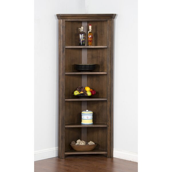 Birney Corner Unit Bookcase by Loon Peak