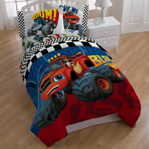 Blaze Fast Track All Season Down Alternative Comforter by Nickelodeon