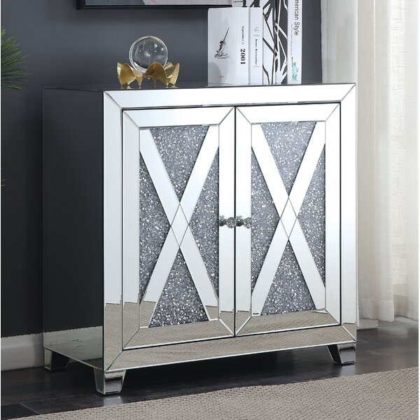 Marlow 2 Door Accent Cabinet by Everly Quinn Everly Quinn