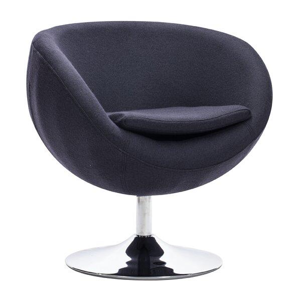 Colorado Springs Swivel Barrel Chair by Corrigan Studio