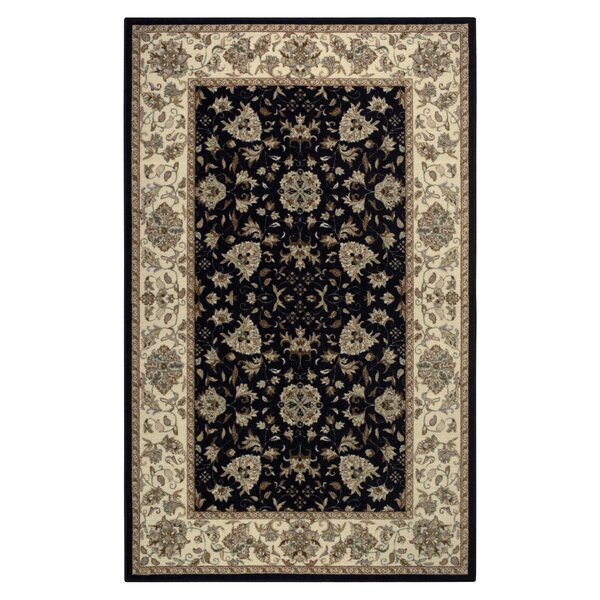 Amani Black Area Rug by Brumlow Mills