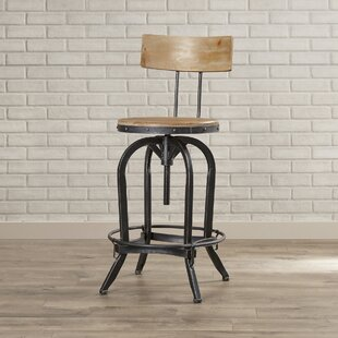 High Quality Oria Adjustable Height Swivel Bar Stool