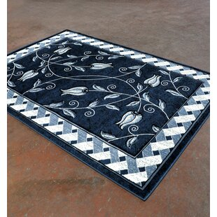 Where buy  Light Blue/Black Area Rug By Rug Tycoon