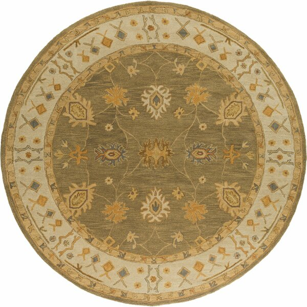 Plemmons Green Area Rug by Three Posts