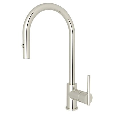 Modern Side Lever Pull Down Touch Single Handle Kitchen Faucet by Rohl