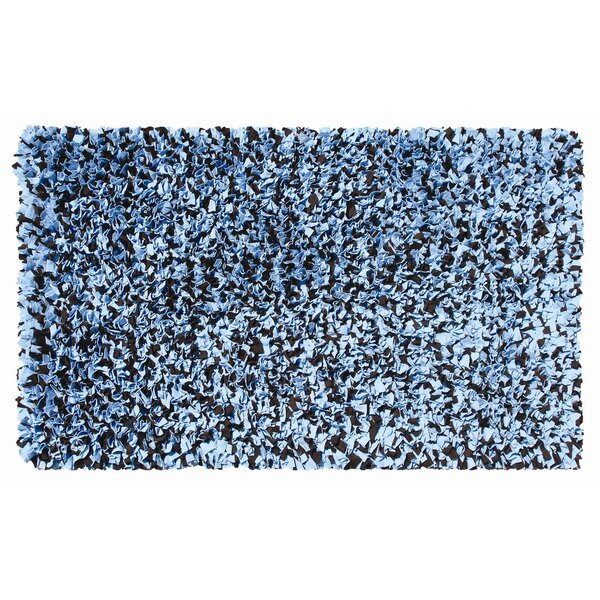 Hand-Woven Blue/Brown Area Rug by The Conestoga Trading Co.