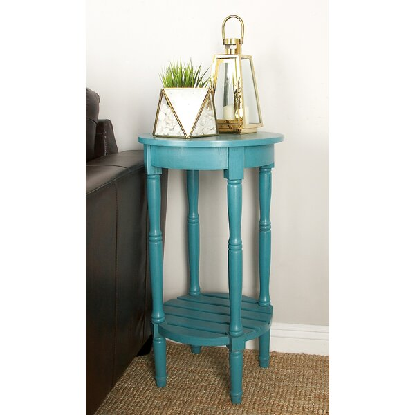 Maurice End Table by August Grove