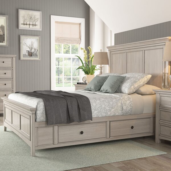 Chehalis Storage Platform Bed by Darby Home Co