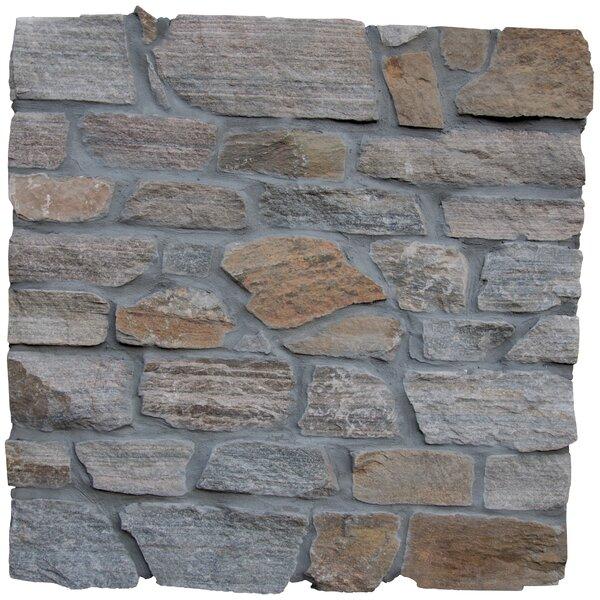 Safari Loose Veneer Natural Stone Splitface Tile in Gray by MSI