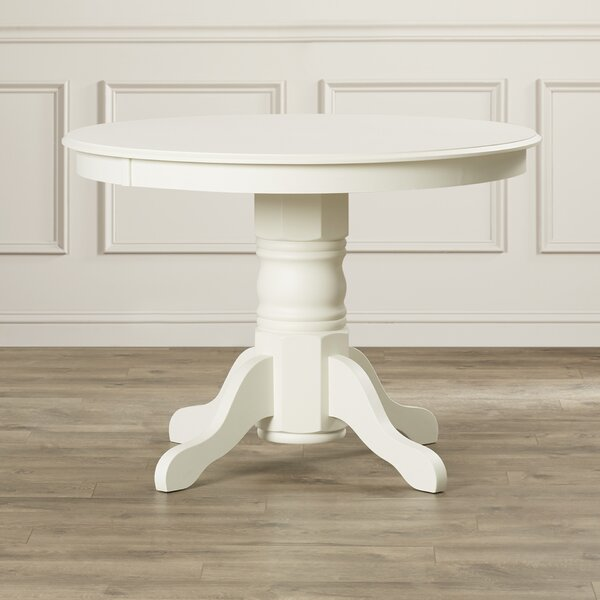 Standridge Pedestal Dining Table by August Grove