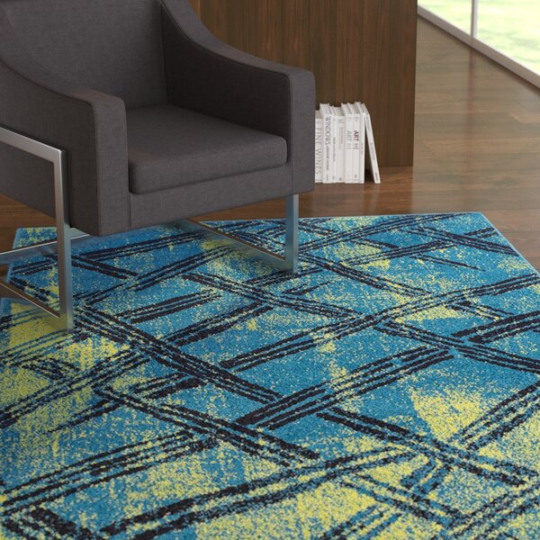 Melgar Wool Green Indoor/Outdoor Area Rug by Ebern Designs