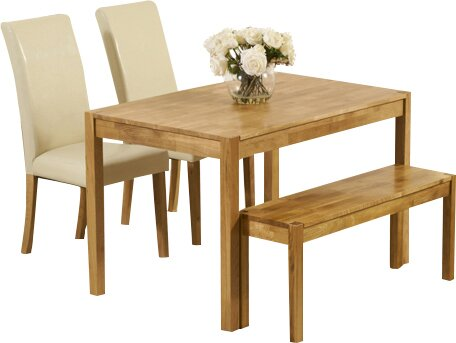 home etc essgruppe cambridge mit 2 st hlen und einer bank bewertungen. Black Bedroom Furniture Sets. Home Design Ideas