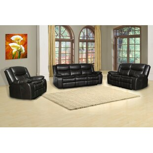 Selen 3 Piece Reclining Living Room Set by Red Barrel Studio®