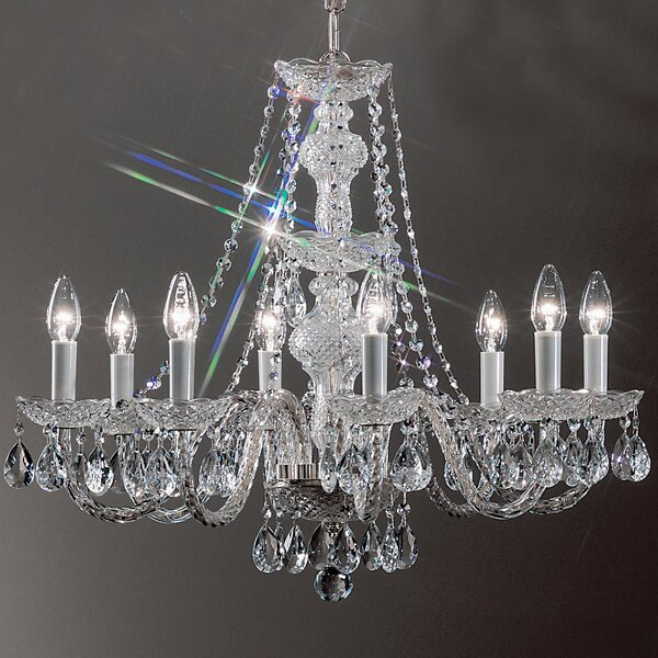 Greig 8-Light Candle Style Chandelier by House of Hampton