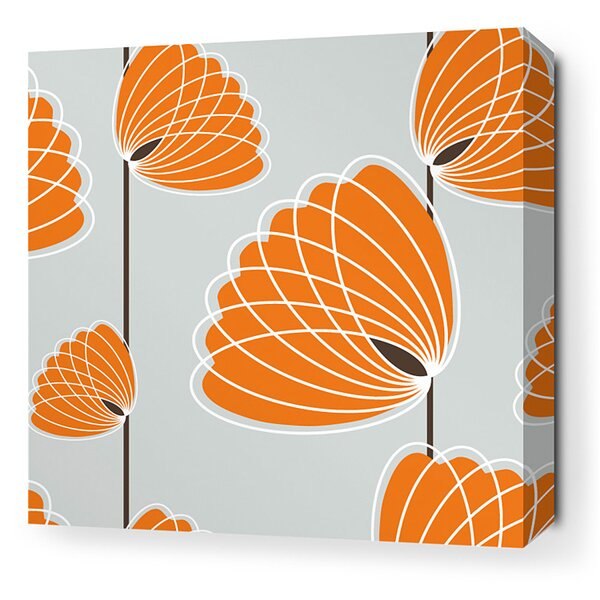 Paterson Lotus Graphic Art on Wrapped Canvas by Corrigan Studio