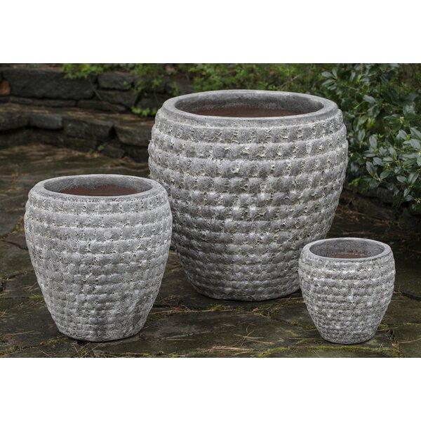 Bullins 3-Piece Terracotta Pot Planter Set by Bungalow Rose