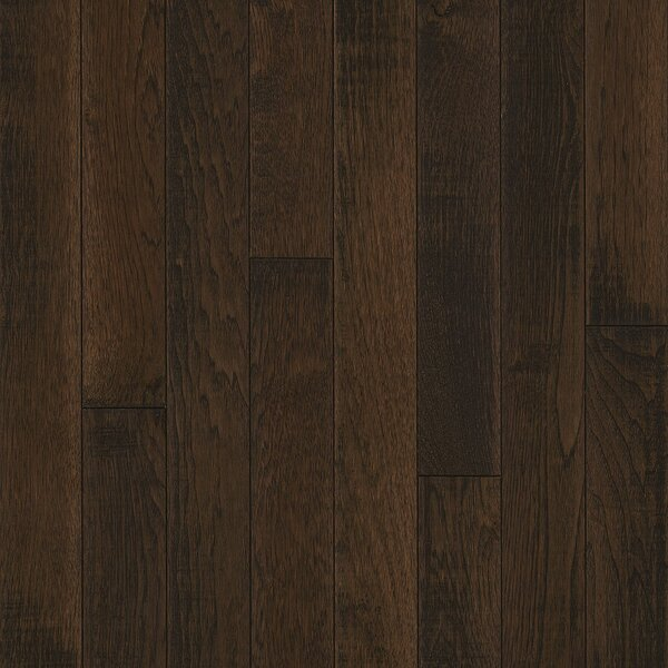 3-1/4 Solid Hickory Hardwood Flooring in Evolving Mocha by Armstrong Flooring