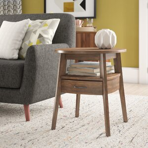 Alvin Bell End Table by Langley Street