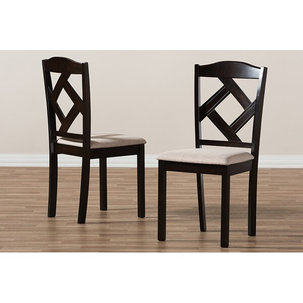 Haddix Dining Chair (Set of 2) by Charlton Home