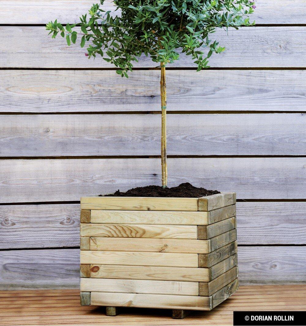 Stockholm Wood Planter Box