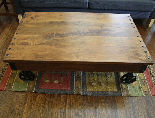 Helton Coffee Table by Loon Peak