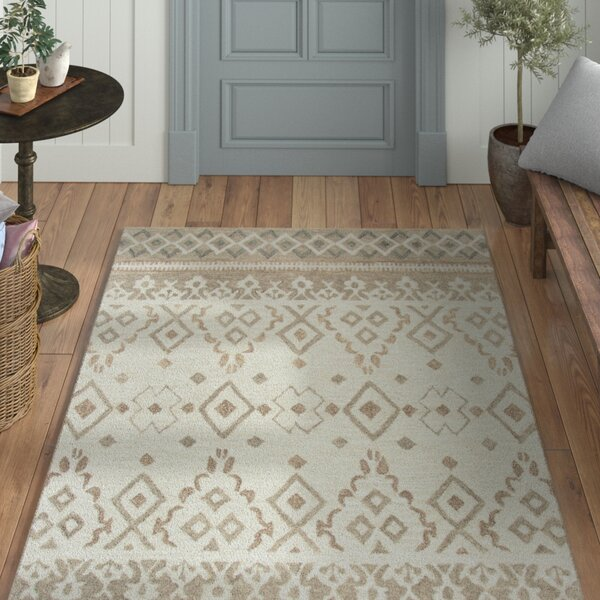 Sorensen Hand-Tufted Natural Area Rug by Laurel Foundry Modern Farmhouse