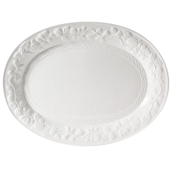 Culver Fruitful Oval Platter by Alcott Hill