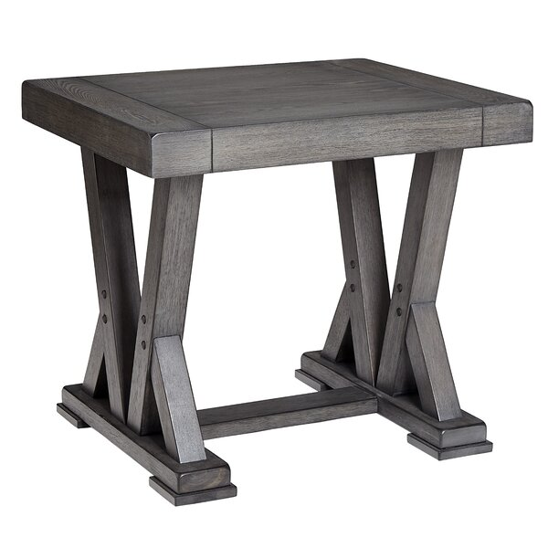Ostler End Table by Gracie Oaks Gracie Oaks
